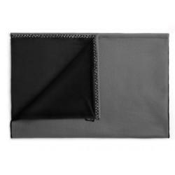 JoQu Koc - Mata Blanket czarno-szary S