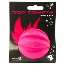 Dog Comets Ball Halley Różowa Piłka