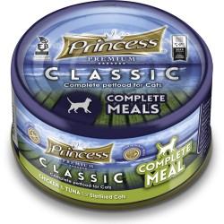 Princess Premium COMPLETE Tuńczyk Kurczak STERILISED z tauryną 170g