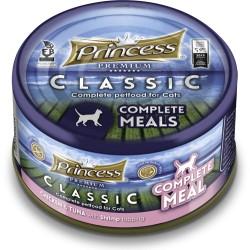 Princess Premium COMPLETE Tuńczyk Kurczak Krewetki z tauryną 170g