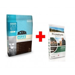 ACANA HERITAGE Puppy Small Breed 6kg + Pronature Holistic Dog Nordiko 340g GRATIS!