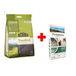 ACANA Grasslands Cat 4,5kg + Pronature Holistic Cat Nordiko 340g GRATIS!