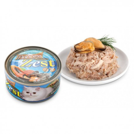Princess Premium ZEST Kurczak / Tuńczyk / Omułek 170g