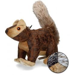 Elegant zabawka dla psa wierwiórka brązowa