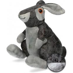 Elegant Zabawka dla psa królik szary
