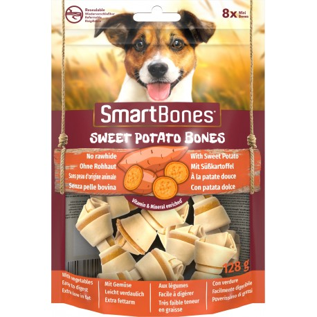 Smart Bones Sweet Potato mini 8 szt.