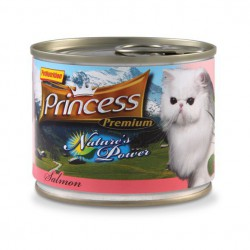 Princess Nature's Power Łosoś 200g 98% mięsa, tauryna
