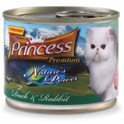 Princess Nature's Power Kaczka Królik 200g 97,7% mięsa z tauryną