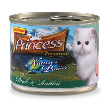 Princess Nature's Power Kaczka / Królik 200g