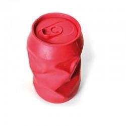 RECORD Zabawka dla psa Puszka z dźwiękiem czerwona 11x6,7cm