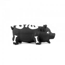 RECORD Horror piszcząca świnka czarna 22cm