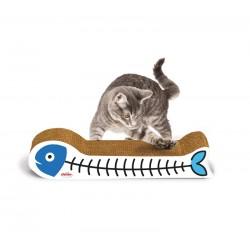 RECORD Drapka dla kota kartonowa Rybka 39cm