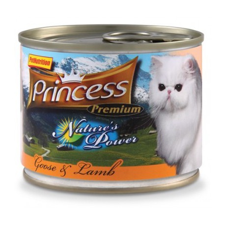 Princess Nature's Power 200g Gęś & Jagnięcina