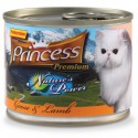 Princess Nature's Power Gęś Jagnięcina 200g 98% mięsa z tauryną