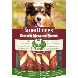 Smart Bones Chicken Wrap Sticks medium 5 szt.