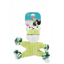 ZOLUX Zabawka pluszowa VELVET żaba Freda 33x9x32 cm kol. zielony