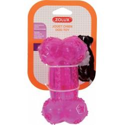 ZOLUX Zabawka TPR POP kość 14 cm różowy