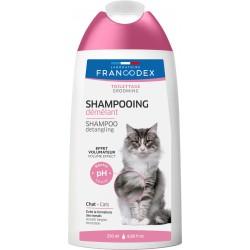 FRANCODEX Szampon 2w1 ułatwiający rozczesywanie dla kotów 250 ml