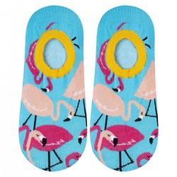 SOXO Stopki flamingi 35-40