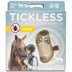 TICKLESS Ultradźw. odstraszacz kleszczy koń beż
