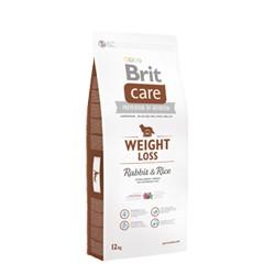 BRIT CARE weight loss rabbit & rice 12kg + GRATIS Lets Bite 80g