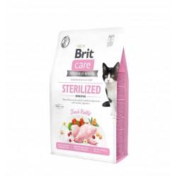 BRIT CARE cat grain-free sterilized sensitive 400g