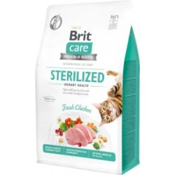 BRIT CARE cat grain-free sterilized urinary 2kg