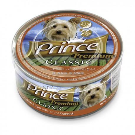 Prince Premium Kurczak Tuńczyk Kraby 170g