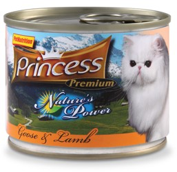 karma mokra dla kota z dużą ilością mięsa Princess