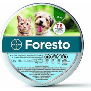 Bayer Foresto obroża przeciw pchłom i kleszczom mała 38cm