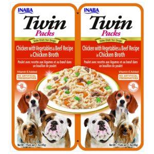 Naturalne przysmaki dla psa INABA Twin Packs