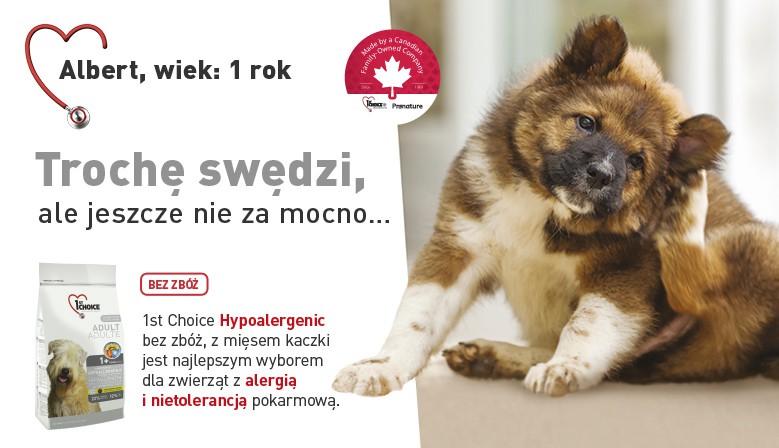 karmy hypoalergiczne dla psów 1st Choice bez zbóż