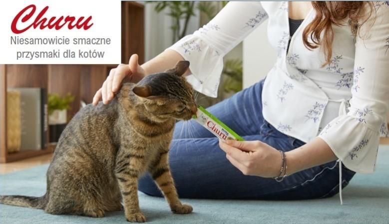 Przysmaki dla kota Churu w tubce