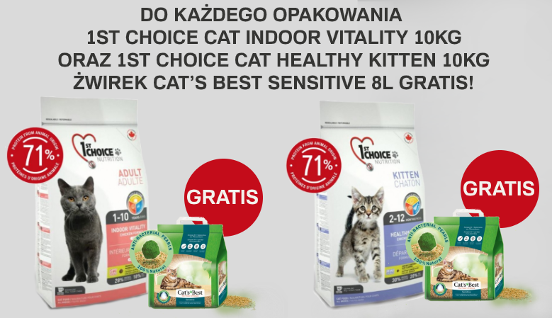 Żwirek Sensitive GRATIS